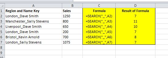 How to split a text field into parts with Excel | Dedicated