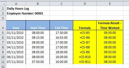 Adding time values in Excel - How to guide | Dedicated Excel