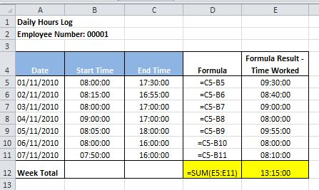 how to sum time in excel  Adding time values in Excel - How to guide | Dedicated Excel