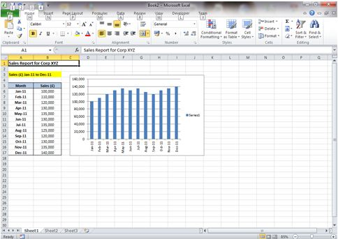 Dynamic chart title in excel 2010 dedicated excel at ccuart