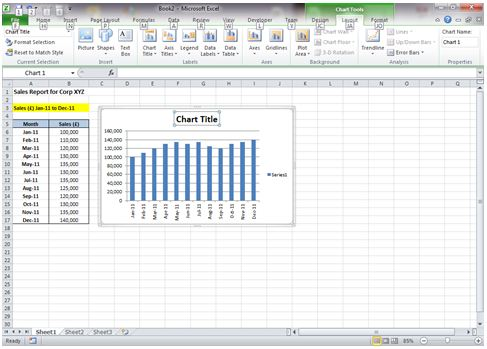 Dynamic chart title in excel 2010 dedicated excel now ccuart