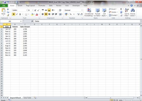 How to copy data to another worksheet with Excel VBA | Dedicated Excel