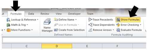 excel reveal formulas learn how to display all formulas