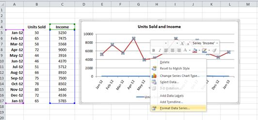 How to create excel chart with two y axis dedicated excel 00056two y axis on excel chart02 ccuart Choice Image