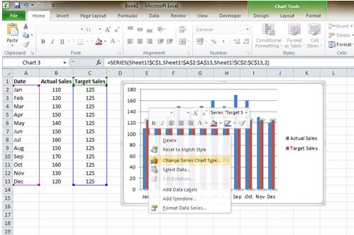 00057_Insert a Goal Line on Excel Bar Chart_08
