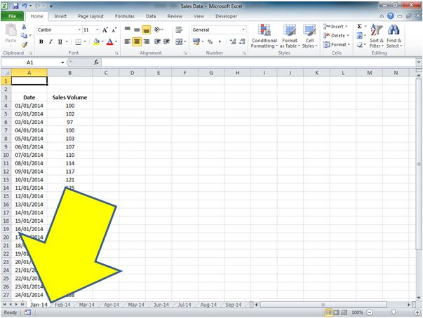 How to Return the Worksheet name in a Cell for Excel 2010 – Excel Worksheet Name