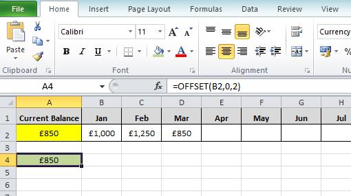 How to find the Last Value in a row Excel formula | Dedicated Excel
