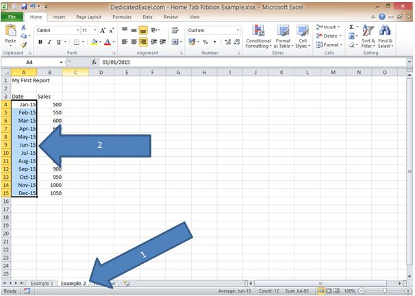00080_Excel Ribbon Home Tab Overview 11