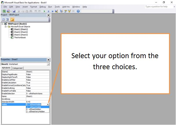 Hide Excel Worksheets and Change Visibility | Dedicated Excel