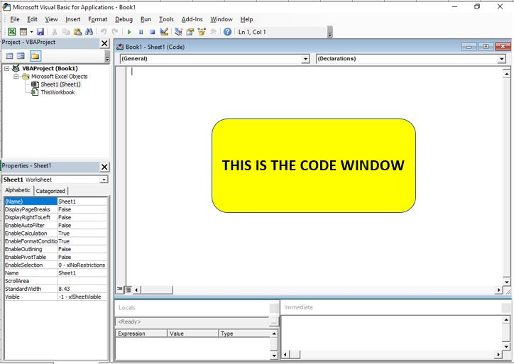 Beginners Guide to the Excel Visual Basic Editor | Dedicated
