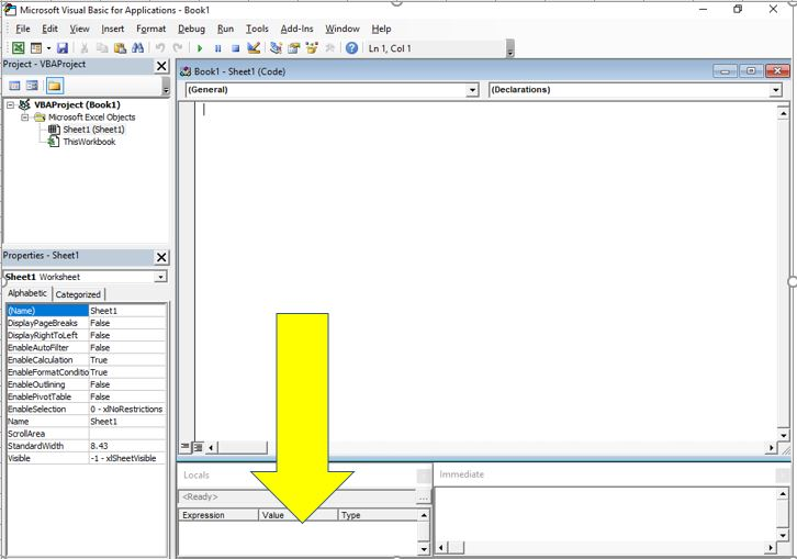 Beginners Guide To The Excel Visual Basic Editor Dedicated